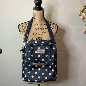 Cath Kidston London Polka Dot Crossbody Book Bag